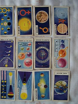 OUT INTO SPACE (issued in) 38 brooke bond tea cards