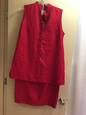 A Pea In The Pod Maternity 2Piece Skirt Suit Size Large