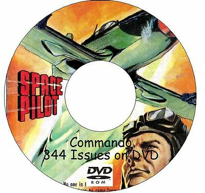 400 Issues COMMANDO Comic 1964 - 2007 on 2 DVD War Stories