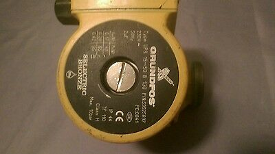 Grundfos  UPS 15-50 N 130 230V Bronze Pump hot water cylinder heating