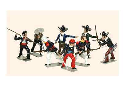 'TRADITION SOLDIERS' Boxed T103 Toy Soldiers Set Camerone Danjous Last stand