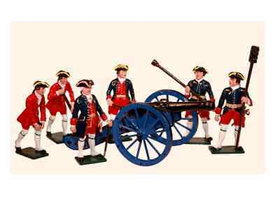 'TRADITION SOLDIERS' Seven Years War  French Artillery Gun Crew