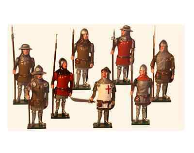 'TRADITION SOLDIERS' Boxed Set English Men at Arns The Battle Of Agincourt