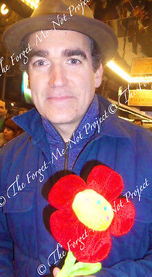BRIAN d'ARCY JAMES (Something Rotten, Smash) photo+signed card CHARITY AUCTION