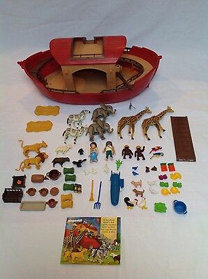 Playmobil Noah's Ark. Complete Set with Motor