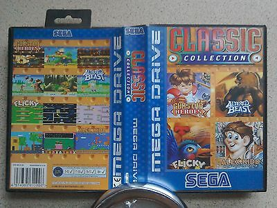 Classic Collection BOX ONLY - For Sega Mega Drive Game (PAL)