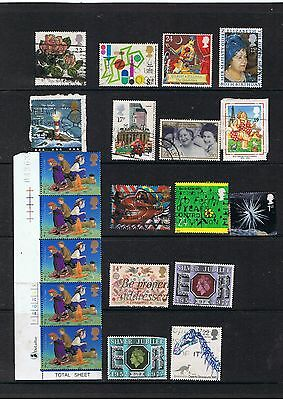 Lot of 20 stamps.United Kingdom.