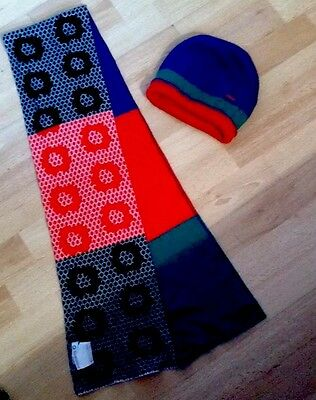 Girls Kenzo Hat and Scarf Set Size2 From 8/16 Years