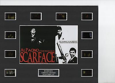 Al Pacino Scarface 35mm Film Cell Display