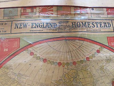 Vintage 1906 New England Homestead Maps.