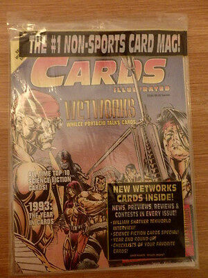 Cards Illustrated Wetworks, Sci-Fi Cards, Tekworld Card Collector's Price Guide