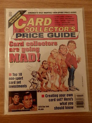 Card Collector's Price Guide Mad Magazine & Star Trek Card Sets July 1993 OOP