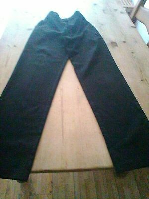 Boys Grey BHS Grey School Trousers. Age 14 years