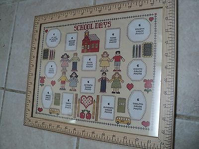 """Silverwood School Days Picture Frame 16"""" X 13"""""""