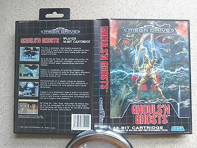 Ghouls & Ghosts BOX ONLY - For Sega Mega Drive Game (Fast Dispatch - PAL)