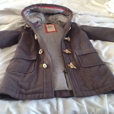 Girls mini boden duffle coat 5-6 years