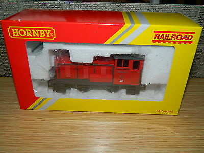 Hornby R3283 Red Bagnall industrial Diesel shunter OO gauge 0-4-0 DH Railroad