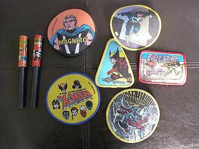 Collectible Patches Marvel 80's
