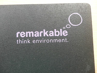 100 Remarkable recycled tyre mouse mats in purple text environmentally friendly