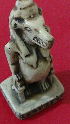 Egyptian Antique, TAWARET God of Childbirth & Fertility, Curved Stone 118g, 90mm