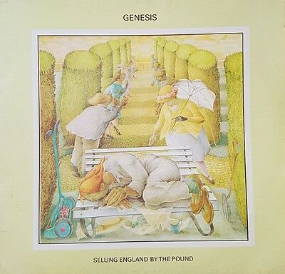 """Genesis AND Mike Rutherford 12"""" Vinyls (2 LP's)"""
