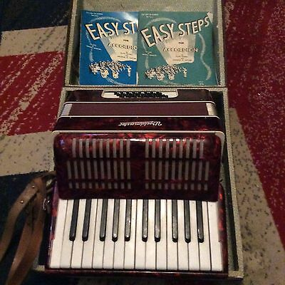 Worldmaster Piano Accordion, Beautiful Piece, Complete With Case, Must See......