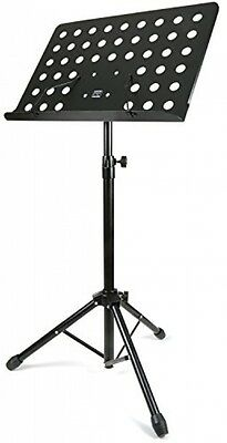 H and S® Heavy Duty Orchestral Conductor Sheet Music Stand Holder Tripod Base