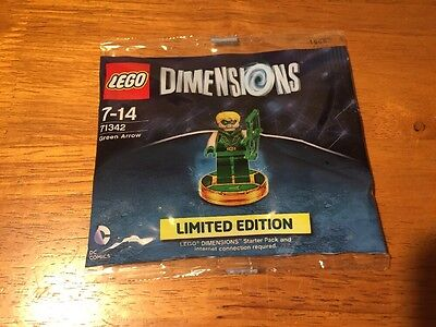RARE Lego dimensions Green Arrow (71342) limited edition. MINT