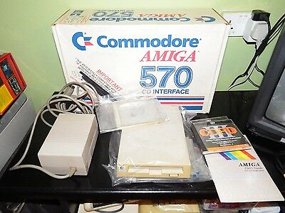 Commodore Amiga A570 CD Interface CDTV BOX