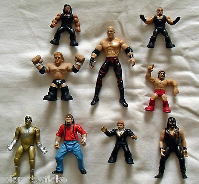 Wwf Wwe Wrestling Figures Collection/job Lot