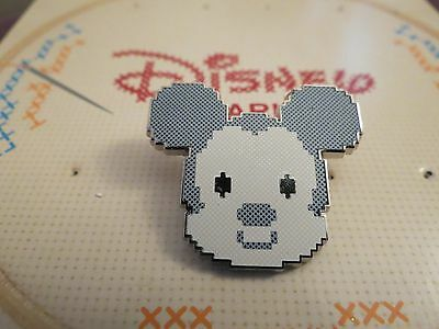 Disney Needlepoint Booster Pack Mickey Mouse Pin