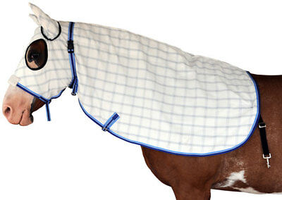 CARIBU Paddock RIPSTOP Horse HOOD, Secure Poll Strap, Ears, (5 Sizes Available)