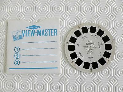 View-Master Reel. 911. Wild Animals Of Africa Ii, In Captivity Usa 1949