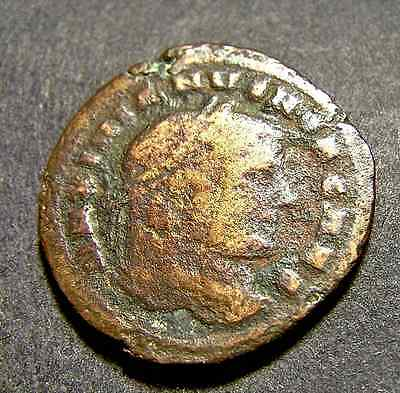 GALERIUS, Roman Wheat Shipped From Carthage, Hard-to-Find Large Follis Coin 28mm