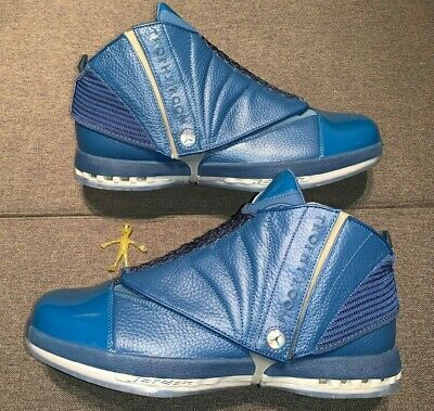 c133cecad7c1e3 ... Nike Air Jordan 16 Retro Trophy Room French Blue Sz 13 854225-416 (689  ...