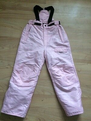 Girls Pink Tog24 Salopettes Size 7 - 8 Years