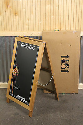 Sailor Jerry Double Sided Chalk Board