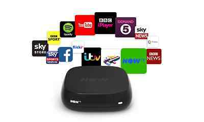 Now Tv Media Box From Sky Turns Any Hd Tv Into Smart Tv Black Model - New
