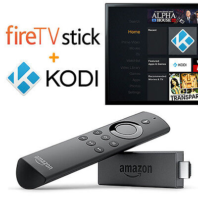 AMAZON FIRE TV STICK with KODI and TOP 100 ADDONS