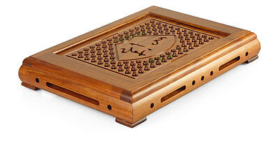 Chinese Tang Classic Pure In Heart Rosewood Gongfu Tea Tray Serving Table