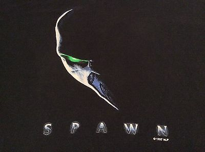 Spawn Movie 1997 Vintage Retro 90s Black T-Shirt XL Extra Large Tennessee Gold