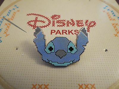 Disney Parks Needlepoint Booster Pack Stitch Pin