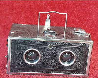 Eho Stereo Box Camera, Model From 1933, 6X13cm Pairs On 120 Film