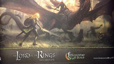 Lord of the Rings Card Game LCG Fellowship Event 2016 Eowyn Witch-king Playmat