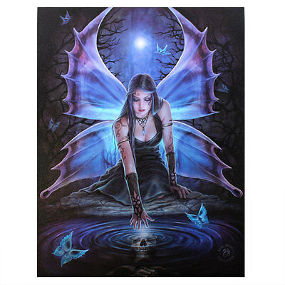 Anne Stokes Classic Gothic Fairy Immortal Flight 50cm x 70cm Canvas Print