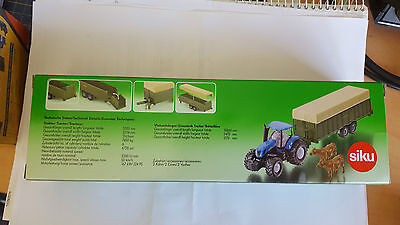 Model Tractor with Trailer 1/87 scale