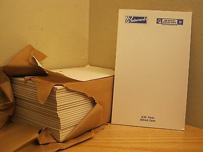 25 Vintage General Motors Mr. Goodwrench Notepads Nos Detroit Zone *free Ship