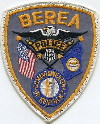 old vintage BEREA KENTUCKY KY state flag POLICE PATCH