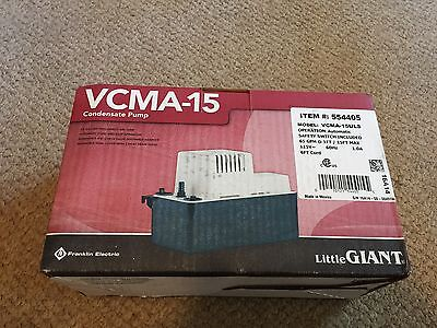 Vcma-15Uls 554405 New Little Giant Condensate Removal Pump