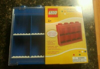 Blue LEGO Small Minifigure Display Case - New, Sealed